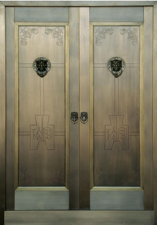 别墅工程铜门系列